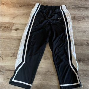 Nike Athletic Pant with ankle zippers